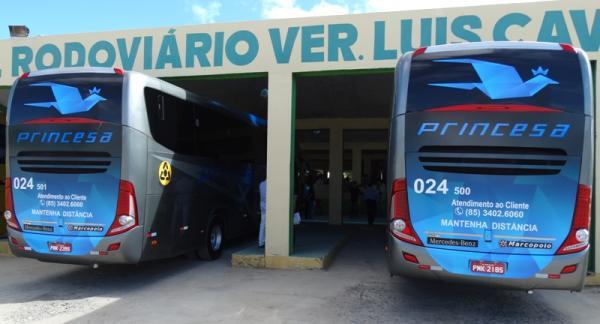 Como funcionará o retorno do transporte intermunicipal no Ceará, a partir de 10 de julho