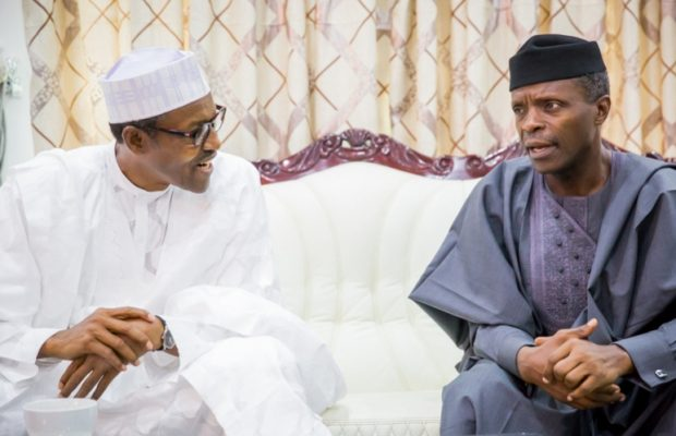Nigeria's sick president meets Osinbajo