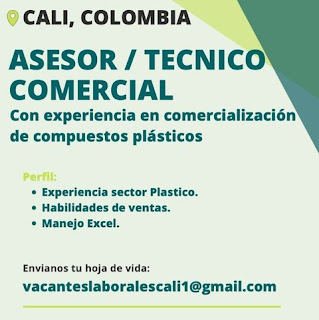 📂 Empleos en Cali Hoy como Asesor Tecnico Comercial 💼 |▷ #Cali #SiHayEmpleo #Empleo