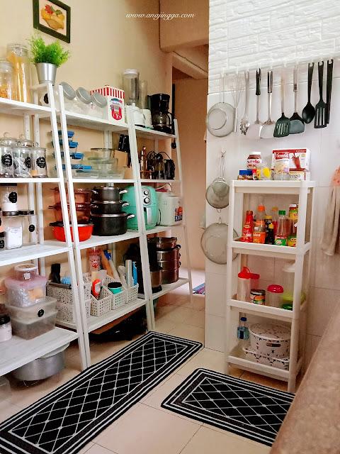 susun atur dapur gaya Ikea