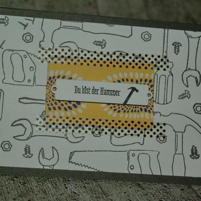 [DIY] Handwerker-Grußkarte für Männer und Werkzeugliebhaber*innen