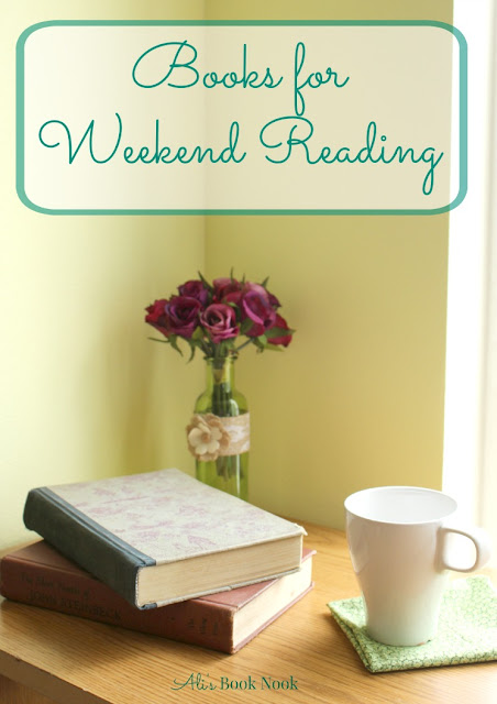 books to read while relaxing weekend reads