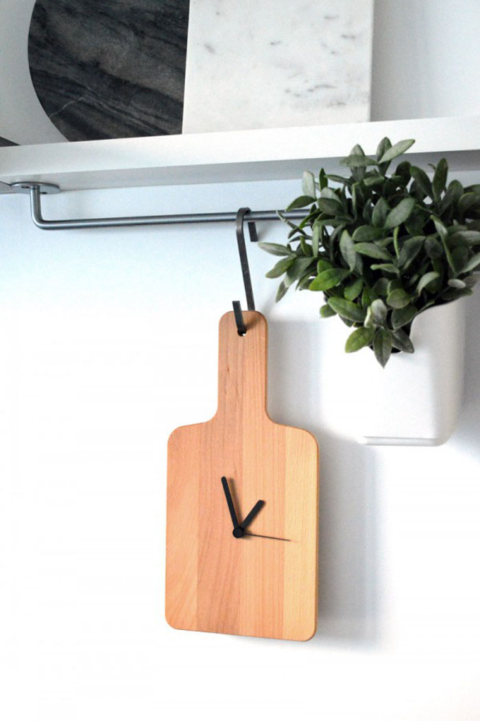 10 impressive ikea hack ideas for fall do it yourself ideas and projects - Wanduhr modern weiay ...