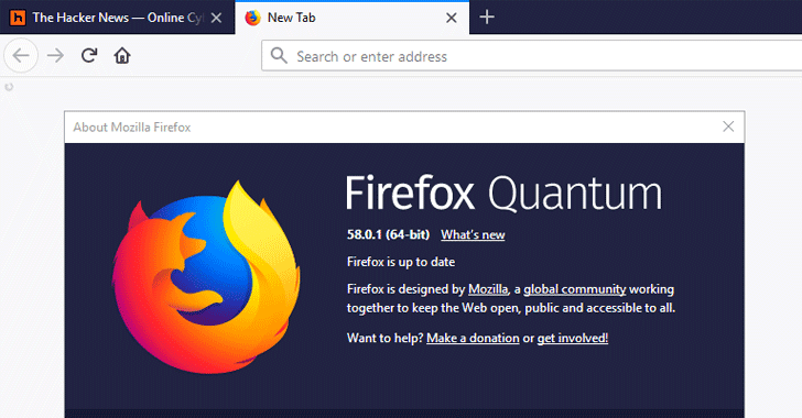 Update Your Firefox Browser to Fix a Critical Remotely Exploitable Flaw