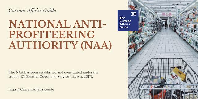 National Anti-Profiteering Authority (NAA)