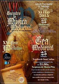 Feira das marabillas. Feria Medieval