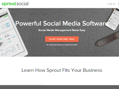 SproutSocial is a powerful social media management platform that offers so much for bloggers