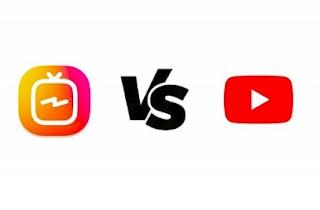 IGTV Vs YouTube Mana yang Lebih Boros ?