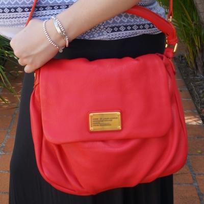 AwayFromTheBlue | Black Maxi skirt, MbMJ Lil' Ukita Bag