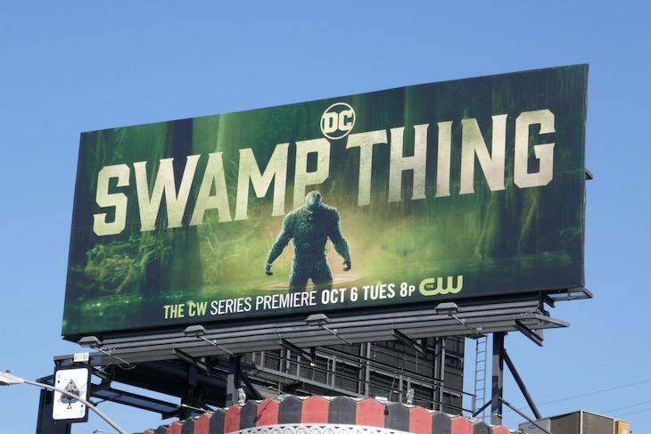 DC Swamp Thing TV series billboard