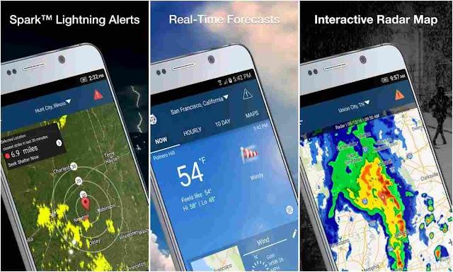 Aplikasi Weatherbug