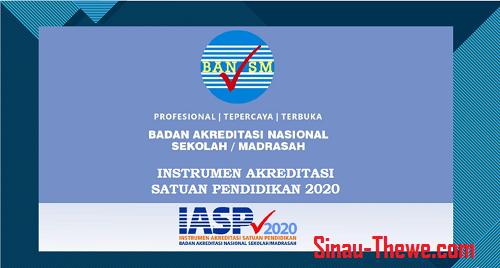Instrumen Akreditasi Satuan Pendidikan Tahun 2020 2021