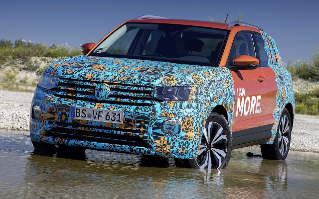Volkswagen T-Cross - concorrente do HR-V