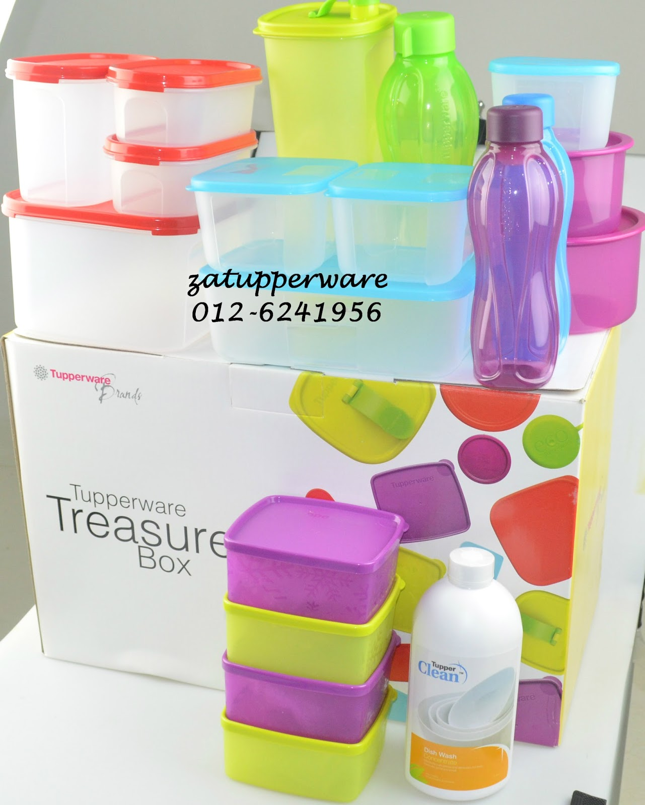 za tupperware brands malaysia promo treasure box set 1st july 12th august 2016. Black Bedroom Furniture Sets. Home Design Ideas