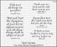 Our Daily Bread designs God Verses