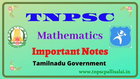 Mathematics full study material Released by Tamilnadu Government
