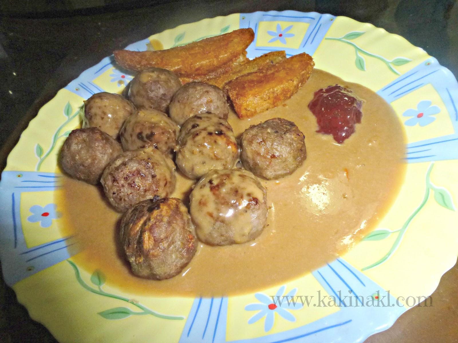 Resepi Meatball Ikea Azie Kitchen