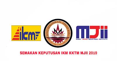 Semakan Keputusan IKM KKTM MJII 2019 Online (SPUPIM)