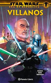 Portada Star Wars - Era de la República: Villanos