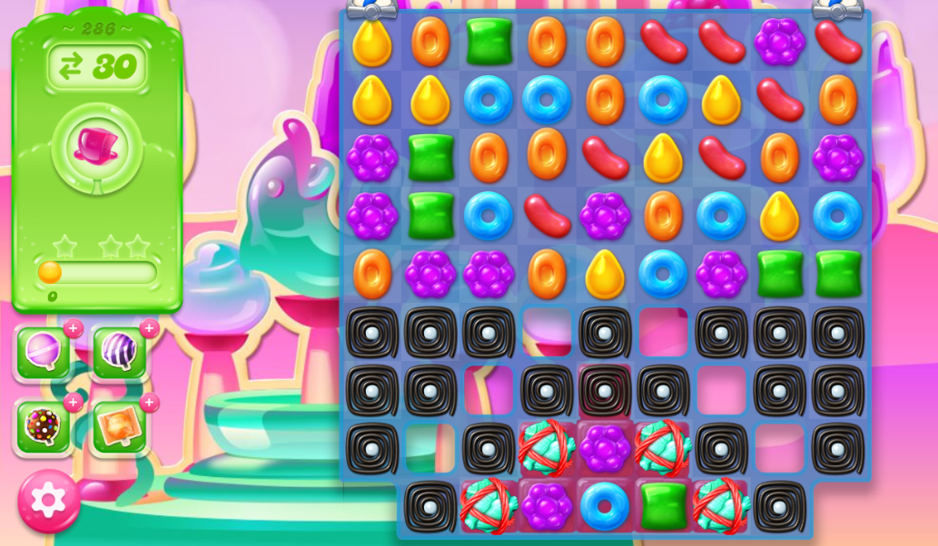 Candy Crush Jelly Saga 286
