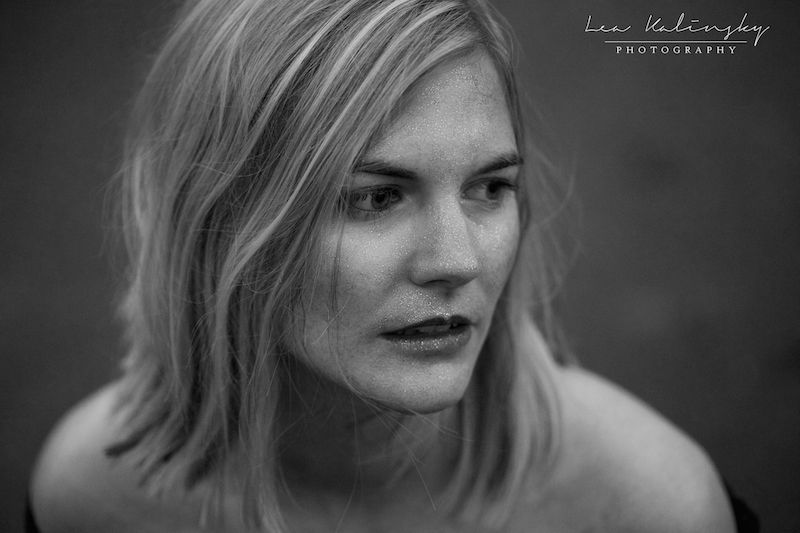 Portraitfotos mit Glitzer