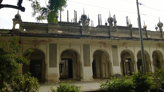 Paigah Tombs Stucco Work Pineapple Shape