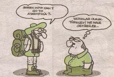 yazıklar olsun Türkçe'yi ne hale getirdiler karikatür