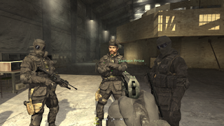 A scene from Modern Warfare displaying the game's graphics quality