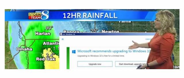 FAIL: Atualização do Windows 10 interrompe previsão do tempo AO VIVO na TV.