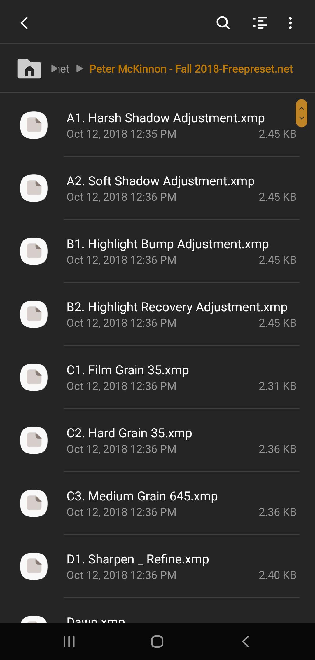 download lightroom presets for mobile
