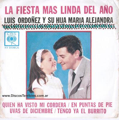 Luis Ordoñez y su hija - La fiesta más linda del año