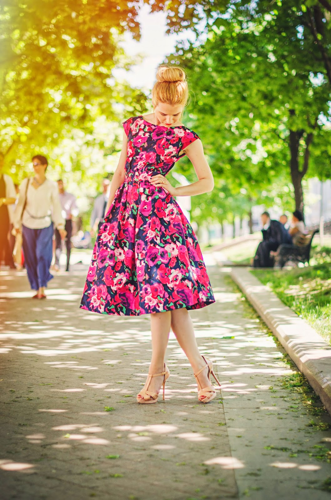 лучший блоггер,летний лук,лучшие луки,платья в стиле нью лук, new look style