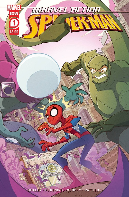 Cover of Marvel Action: Spider-Man #1