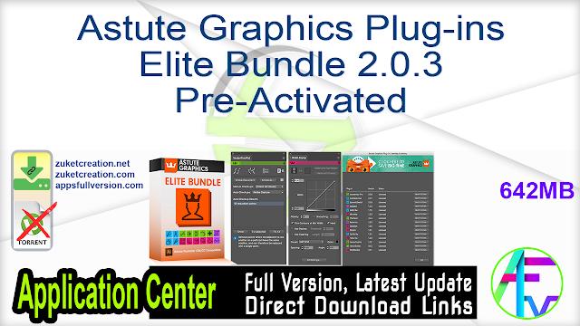 Astute Graphics Plug-ins Elite Bundle 2.0.3 Pre-Activated