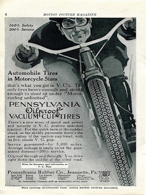 Pennsylvania oil proof vacuum cup tires