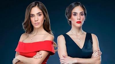 Sandra Echeverría como Paola e Paulina em A Usurpadora