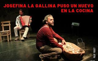 ¡JOSEFINA La Gallina puso un huevo! | Teatro La Maldita Vanidad