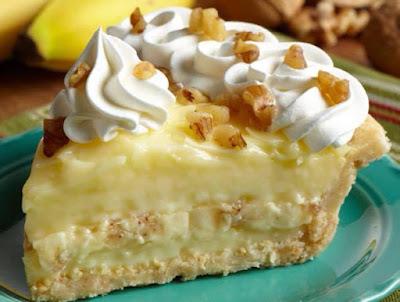 Old Fashioned Banana Cream Pie