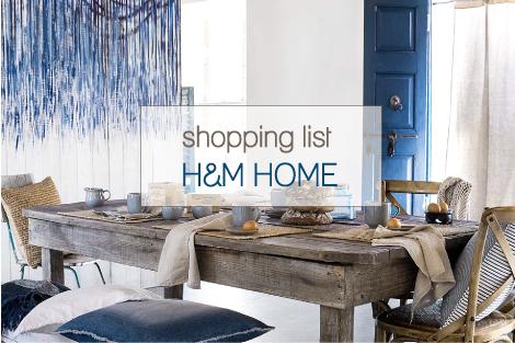 Shopping list per la casa al mare blog di arredamento e for Shopping per la casa