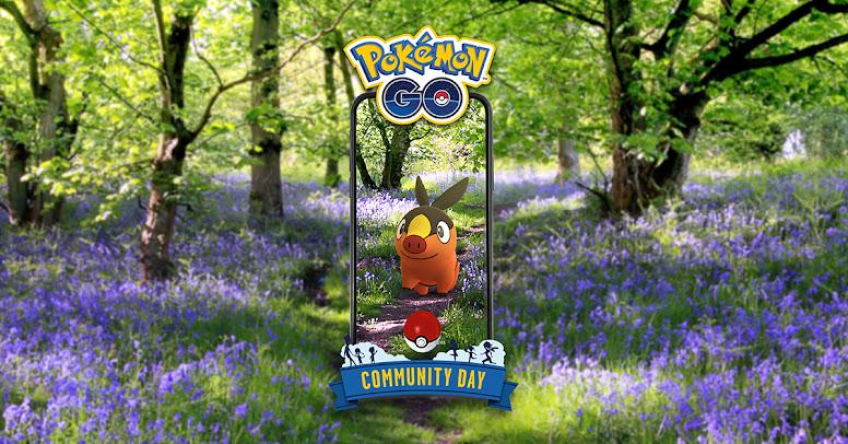 Pokémon GO Dia Comunitário Tepig