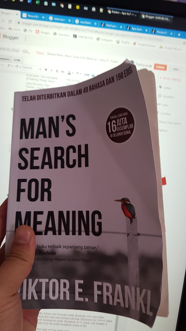 buku Man's Search for Meaning