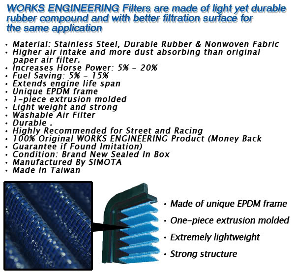 topsound performance  works air filter