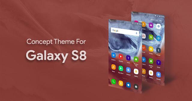 تحميل لانشر سامسونج جلاكسي S8 - S8 Launcher - Galaxy S8 Theme APK مع الخلفيات ✅