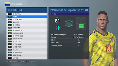 PES 2019 PS4 Option File Copa America 2019 by Allendoglu