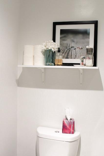 Home tour bathroom makeover reveal a classy fashionista for Megan u bathroom tour