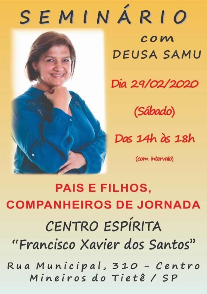 Seminário com Deusa Samú