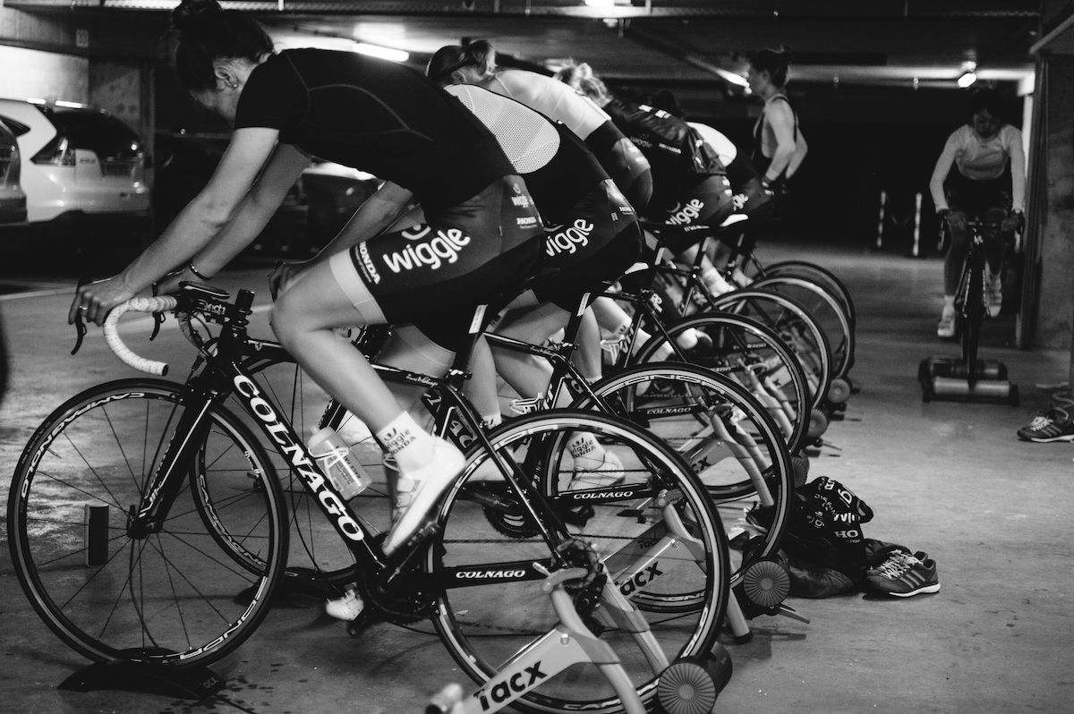 Turbo Trainer Workout Session