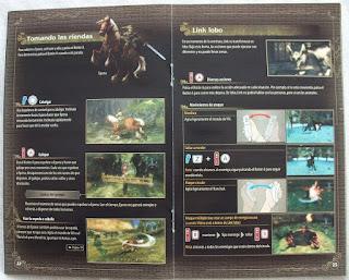 The Legend of Zelda - Twilight Princess - Manual interior