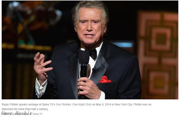Longtime TV Host Regis Philbin Dies At 88 Regis Philbin, the affable speak