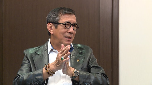 Yasonna Siap Hadapi Gugatan Tommy Soeharto soal Partai Berkarya